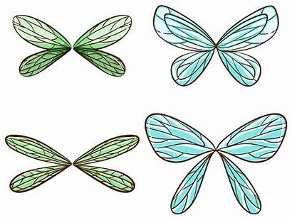 Wings Vector Dragonfly Clip Clipart Graphics Wing