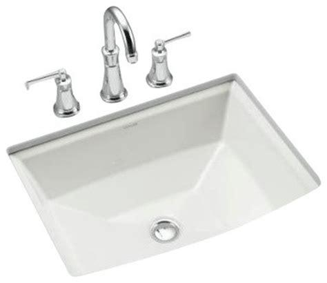 kohler k 2355 0 archer mount bathroom sink contemporary bathroom sinks by plumbingdepot