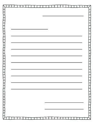 printable letter writing paper wintersta printable
