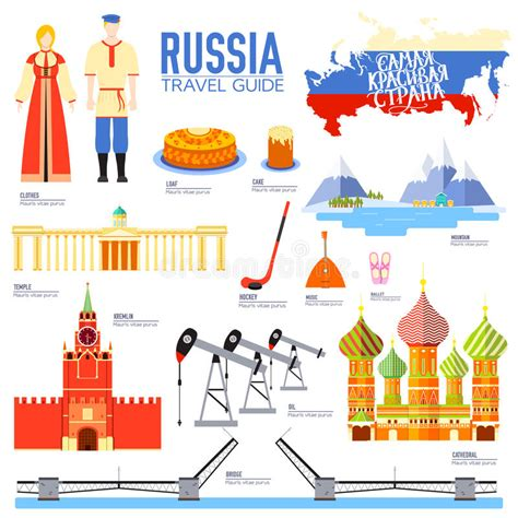 Country Russia Travel Vacation Guide Of Goods, Places And