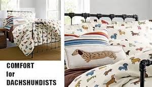Pottery Barn Dog Bed the long and short of it all a dachshund dog news