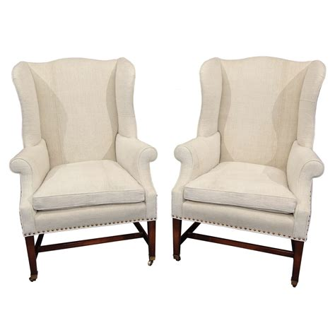 dining chair cusions pair wingback chairs