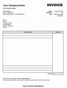 blank invoice template free download denryokuinfo With blank invoice pdf download free