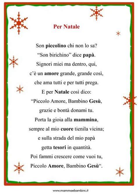 Cornici Per Poesie by Tante Poesie Di Natale Da Stare Con Cornice Mamma E