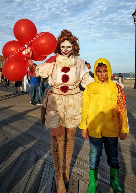 Penny Wise And Georgie Cosplay Pennywise Georgie