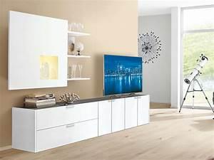Hülsta Online Shop : wohnwand h lsta fena in wei von h lsta und h lsta shop g nstig online kaufen im einrichtungs ~ Frokenaadalensverden.com Haus und Dekorationen