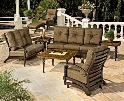 lowes patio furniture clearance furniture shop garden treasures tucker bend brown steel
