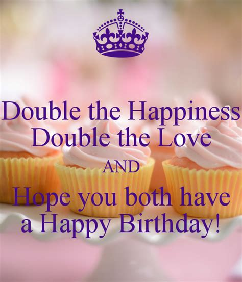 double  happiness double  love  hope