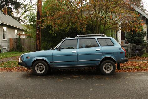 subaru wagon 1980 old parked cars 1978 subaru leone wagon