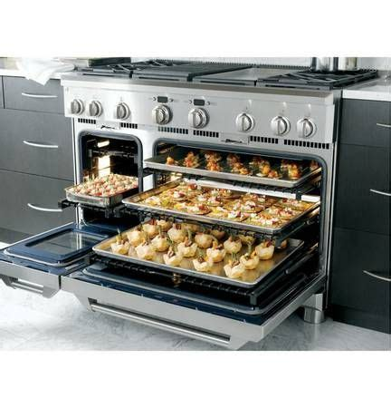 ge monogram  duel fuel range model zdpngpss chefs kitchen gourmet kitchens home cooking