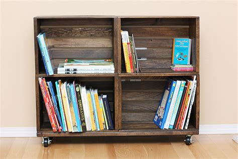 make a desk out of bookshelves 39 wood crate storage ideas that will have you organized
