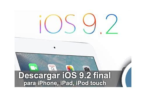 descargar ios 9 ipsw para ipad 2 wifi