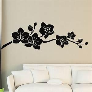 sticker belles orchidees ambiance sticker kc2949 With chambre bébé design avec comment envoyer des fleurs en angleterre
