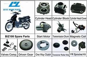 China Honda Biz100 Motorcycle Parts  Full Range Of Parts