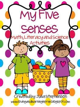 senses math literacy  science activities