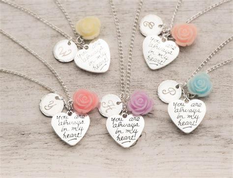 bff necklaces   set   silver heart necklaces