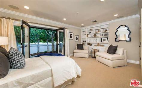 The Guest Bedroom - Mila Kunis Los Angeles Mansion - Lonny