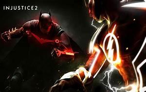 Injustice 2 Fanart Poster Batman Vs Flash 4k, HD Games, 4k ...