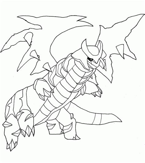 Kleurplaten Palkia by Giratina Coloring Pages Coloring Home