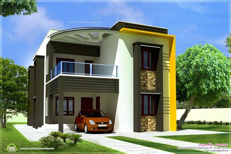 Duplex House Front Elevation Designs