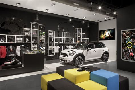 Pop Up Cer Interior Design mini s pop up shop merges cars with fashion