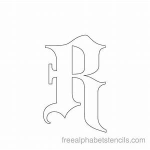 template gothic font free - handwriting without tears letter templates handwriting