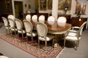 mahogany dining table and 12 chairs set at 1stdibs - Mahogany Dining Room Set
