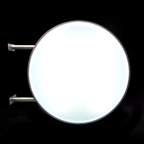 round light box sign 70cm round projecting light box pure image display