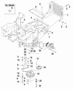 Exmark Parts On The Engine Group Diagram For Lct4418kc