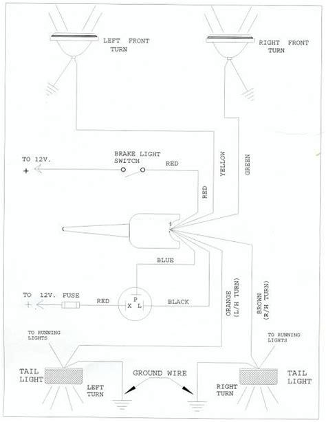 golf cart turn signal switch wiring diagram signal stat flasher wiring diagram get free image about