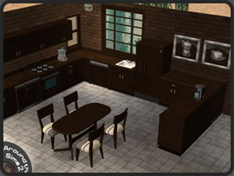 sims 3 cuisine around the sims 2 objects kitchen maxis wenge