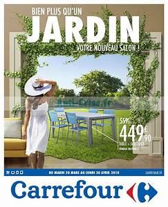 Meuble De Jardin Carrefour : catalogue carrefour du 20 mars au 30 avril 2018 mobilier de jardin ~ Teatrodelosmanantiales.com Idées de Décoration