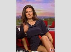 Gone in a flash! Susanna Reid says farewell to BBC