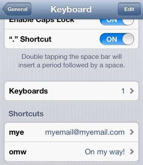 shortcuts on iphone how to create text shortcuts on your iphone simplylikeit