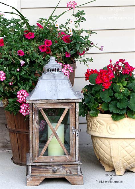 summer porch decorating ideas house of hawthornes