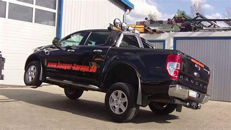 Mammut Offroad Ranger Garage by Ford Ranger Quot Federweg Test Quot Mit Gabelstapler Www Ranger