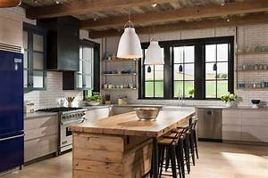 Farmhouse, Style, Residence, Embraces, Warm, And, Inviting, Design, In, Montana