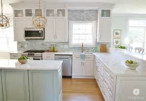 kitchen cabinet trim molding ideas coastal kitchen makeover the reveal