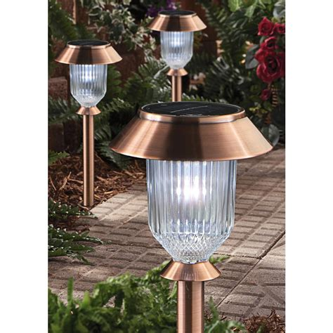 6 pk westinghouse 174 europa iii solar light set antique
