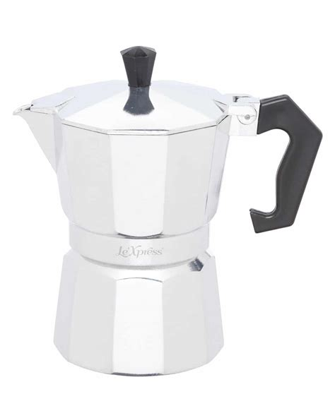 The bialetti moka express lives in nine out of ten italian homes, the museum of modern art and the guinness book of records. Italian Espresso Coffee Maker: 3 Cup Italian Moka Pot ...