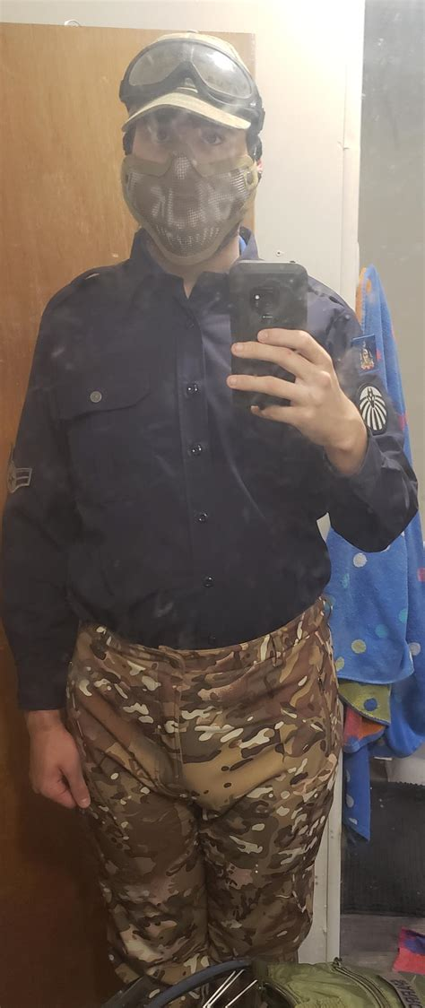 My Mtf Costume Uniform Top Is Small For Me Scp