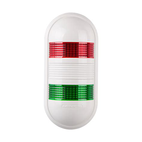 wall led signal light 2 stack steady 24 vac vdc