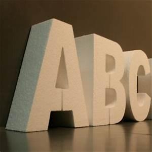 Große Deko Buchstaben : styroporzuschnitte styroporbuchstaben styrodurbuchstaben styroporkugeln gro 3d logos ~ Markanthonyermac.com Haus und Dekorationen