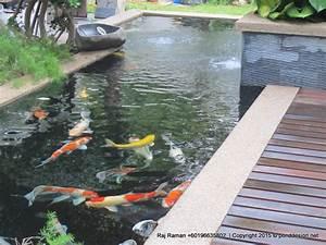 Koi pond design Malaysia | Fountain Design & Trading