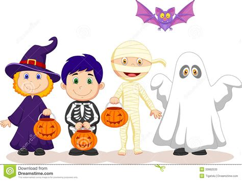 kids happy halloween clipart festival collections
