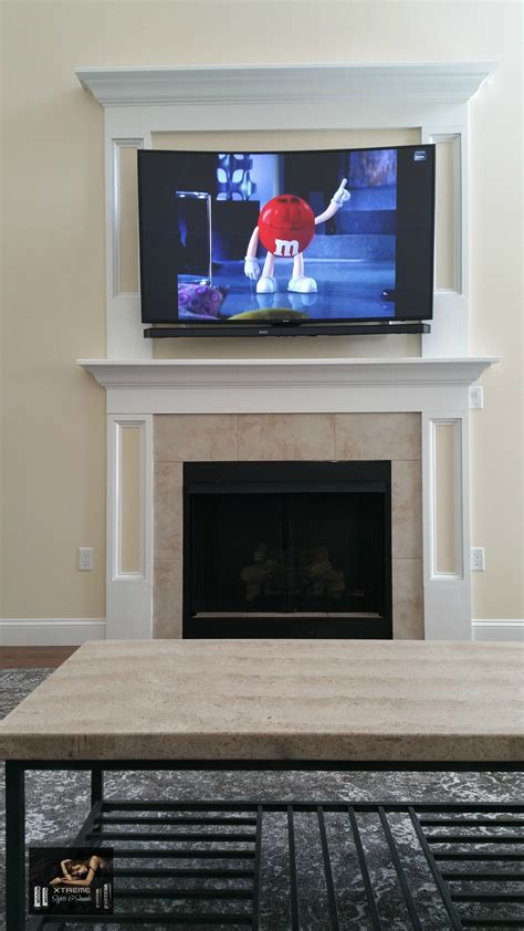 tv and fireplace freehold new jersey tv mounting soundbar surround sound