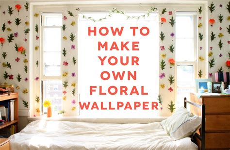 fall diy blog diy dorm room decor floral wallpaper