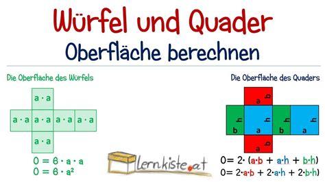 volumen berechnen quader zusammengesetzte  rper aus