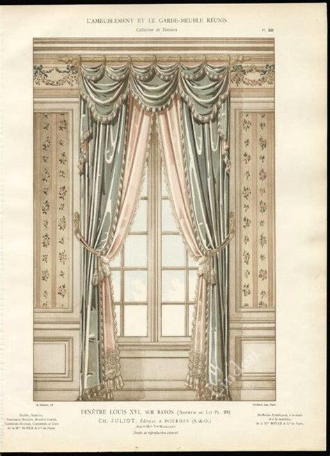 Pelmet...Dressing the Top of the Curtain...'Fenetre Louis