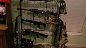 Airsoft Gun Rack Review - YouTube